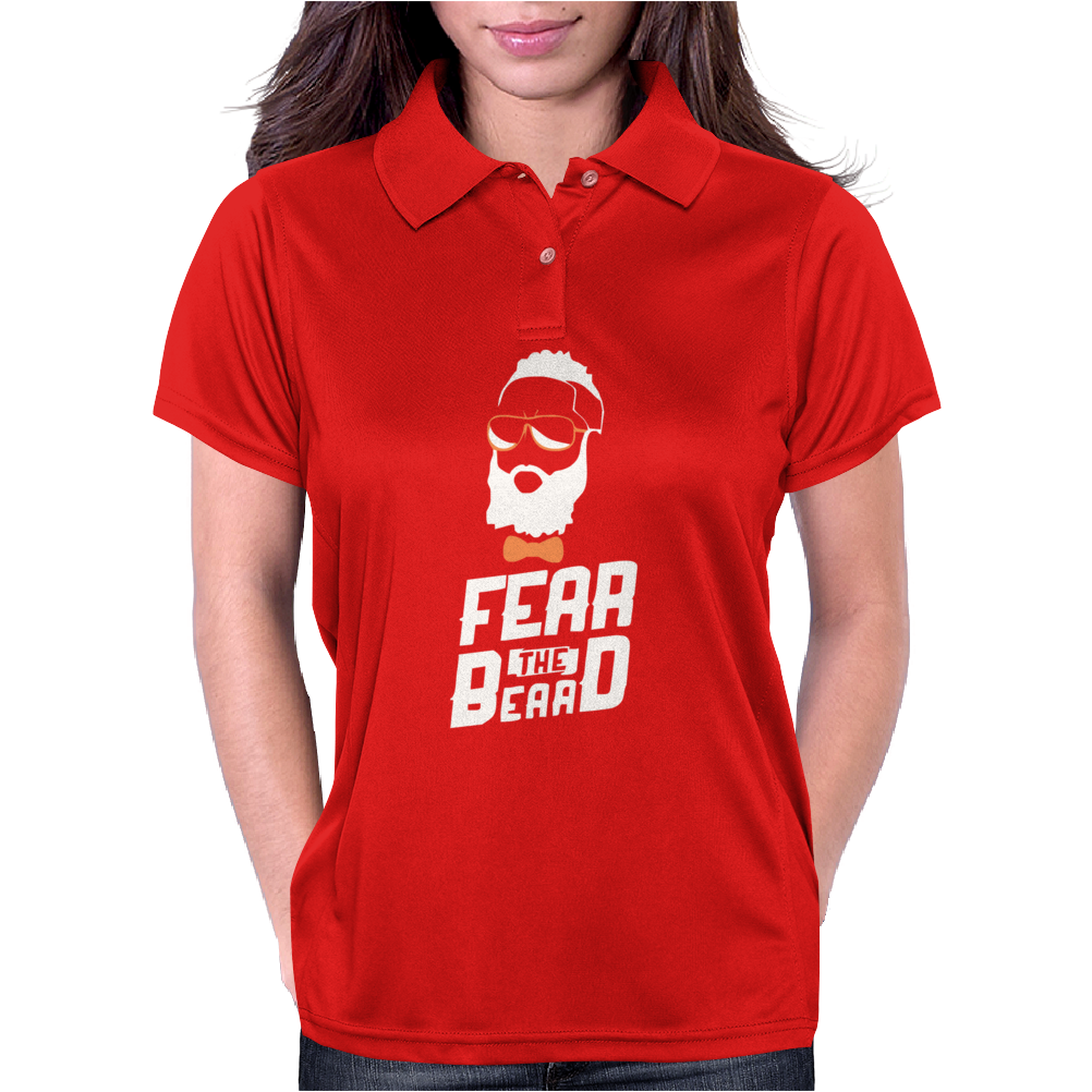 James Harden Fear The Beard Womens Polo