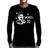 James Rodriguez Colombia Soccer Star Mens Long Sleeve T-Shirt
