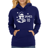 James Rodriguez Colombia Soccer Star Womens Hoodie