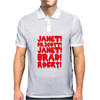 janet brad dr scott Mens Polo