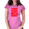 janet brad dr scott Womens Fitted T-Shirt
