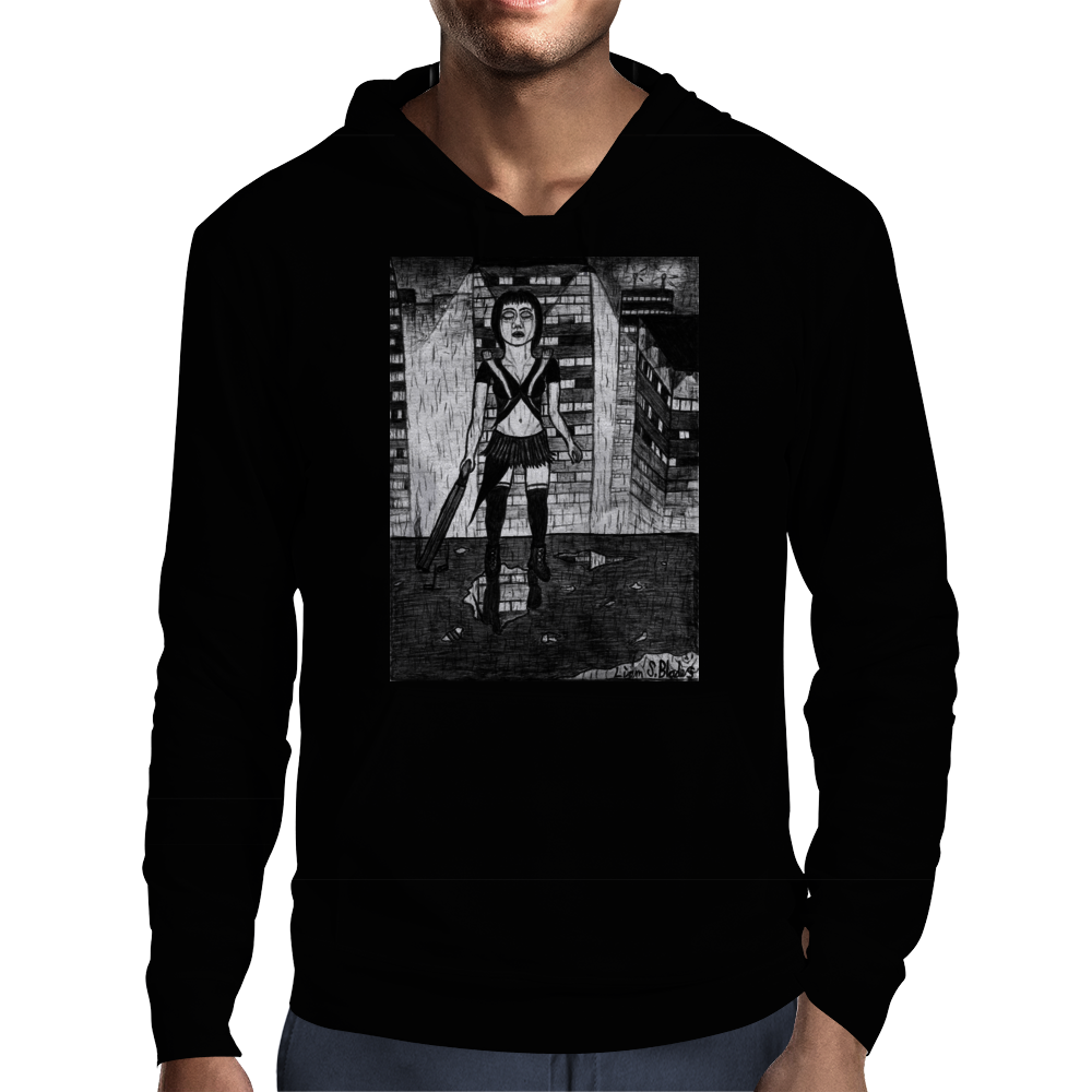 Japanese Assassin/Dominatrix/Accountant2 Mens Hoodie