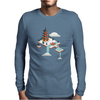 Japanese Garden Mens Long Sleeve T-Shirt