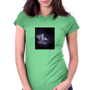 japanese girl fights demon in dungeon Womens Fitted T-Shirt