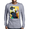 JAPANESE WITH FISH Mens Long Sleeve T-Shirt