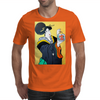 JAPANESE WITH FISH Mens T-Shirt