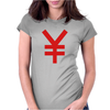 Japanese Yen Womens Fitted T-Shirt