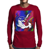Jason Goes To Vaporwave Mens Long Sleeve T-Shirt