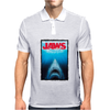 Jaws Inspired Great White Shark Mens Polo