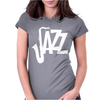 Jazz Saxophone Womens Fitted T-Shirt