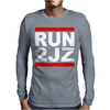JDM RUN 2JZ Mens Long Sleeve T-Shirt