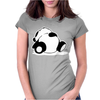 Jdm Sleepy Panda Womens Fitted T-Shirt