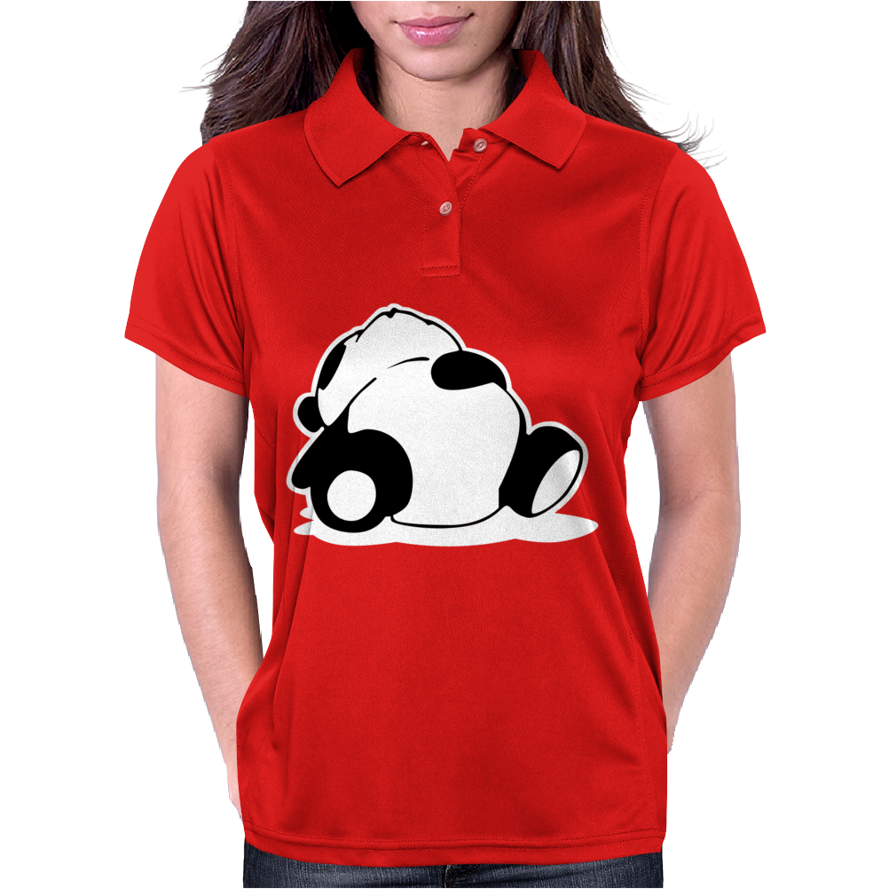 Jdm Sleepy Panda Womens Polo