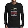 Jedi In The Streets Mens Long Sleeve T-Shirt