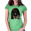 Jedi Pug Womens Fitted T-Shirt