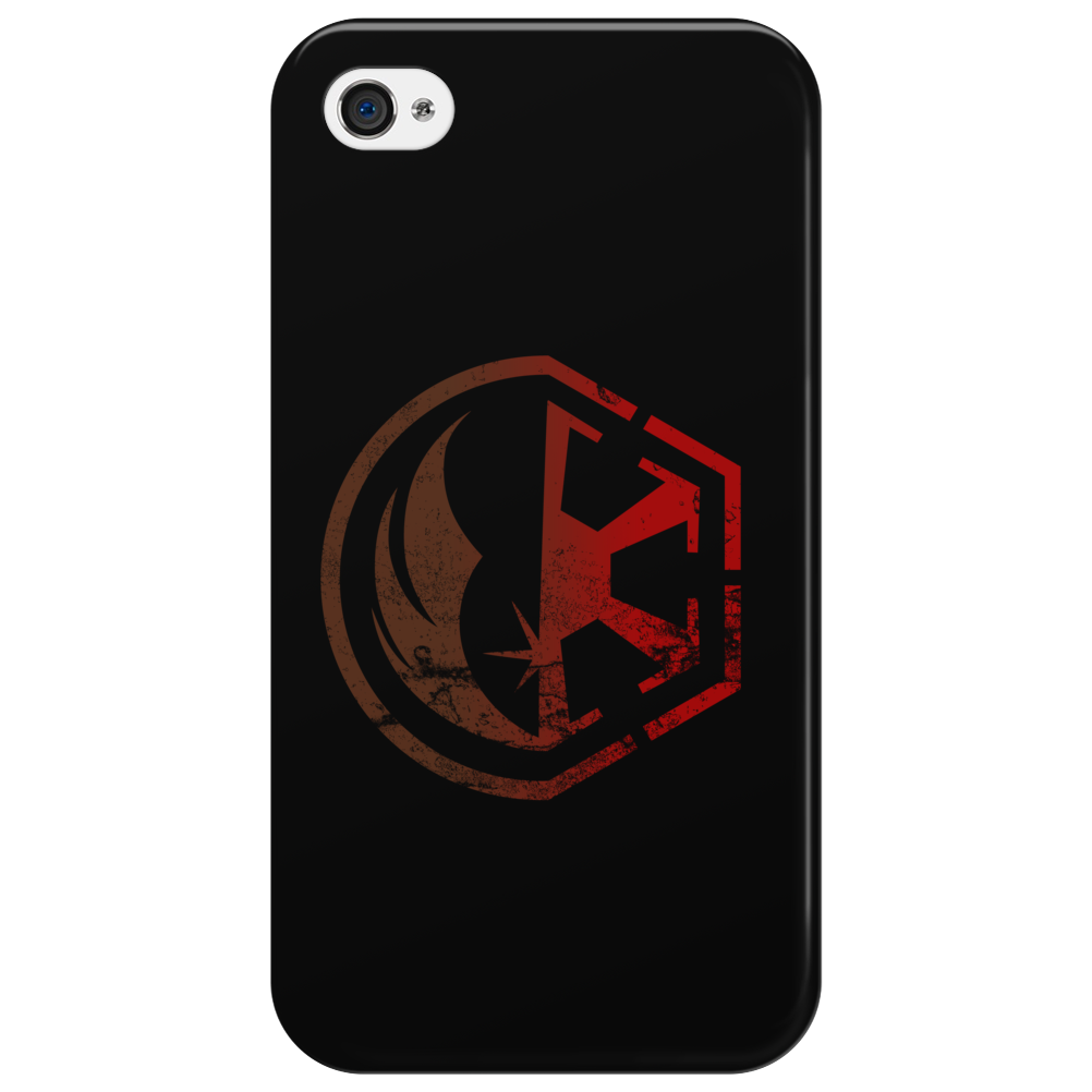 jedi vs sith Phone Case