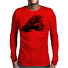 Jeep Emblem On Speed Mens Long Sleeve T-Shirt