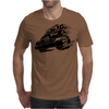 Jeep Emblem On Speed Mens T-Shirt