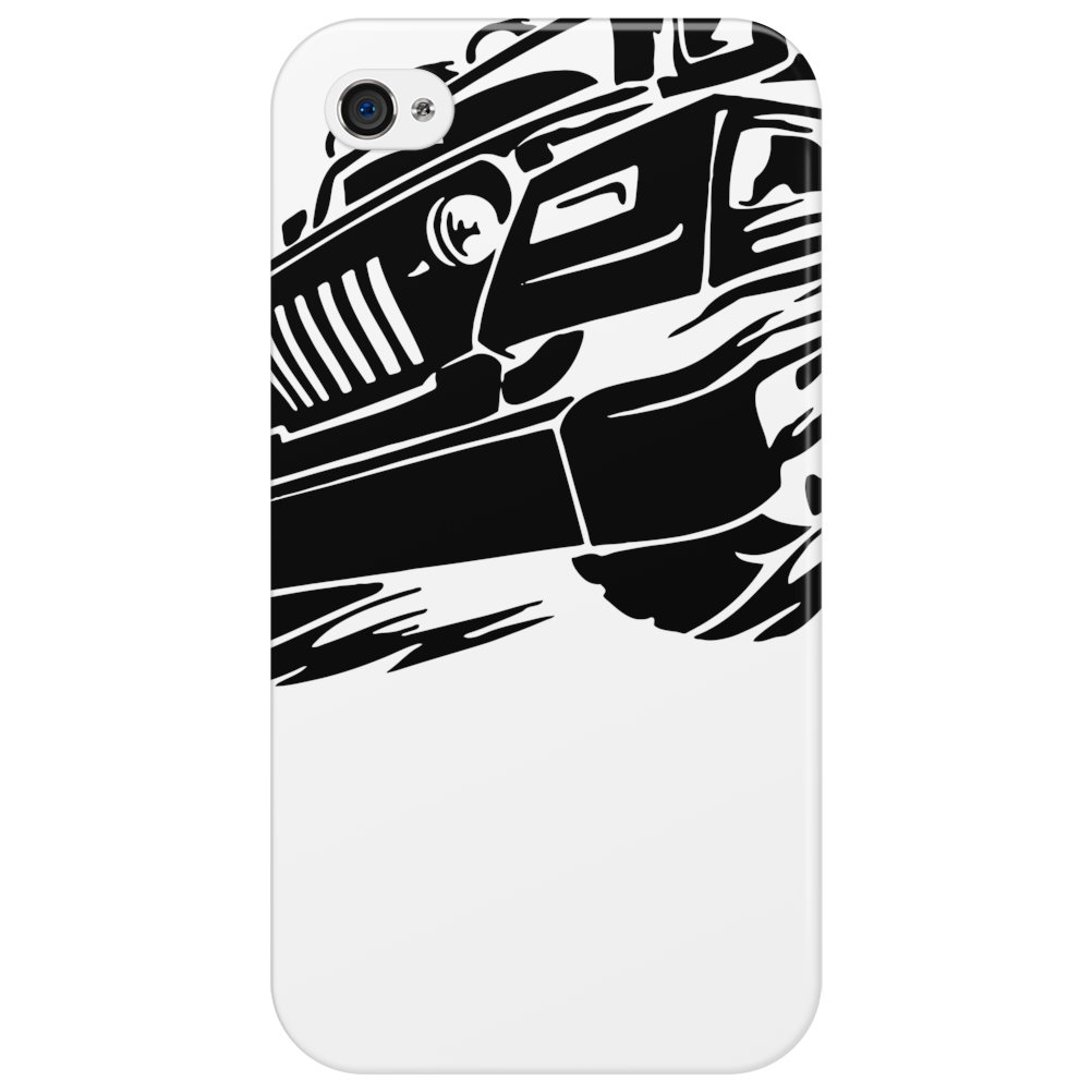 Jeep Emblem On Speed Phone Case