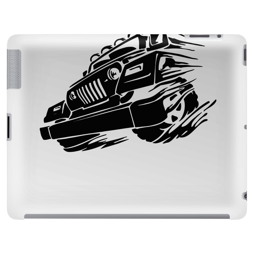 Jeep Emblem On Speed Tablet