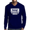 Jeeps Logo on Men Black Mens Hoodie