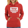 Jeeps Logo on Men Black Womens Hoodie