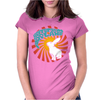 JEFFERSON AIRPLANE WHITE RABBIT Womens Fitted T-Shirt