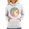 JEFFERSON AIRPLANE WHITE RABBIT Womens Hoodie