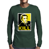 Jerry Lee Lewis Kill Hope Style Rock Mens Long Sleeve T-Shirt