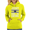 Jerry Makes Me Drink Womens Hoodie