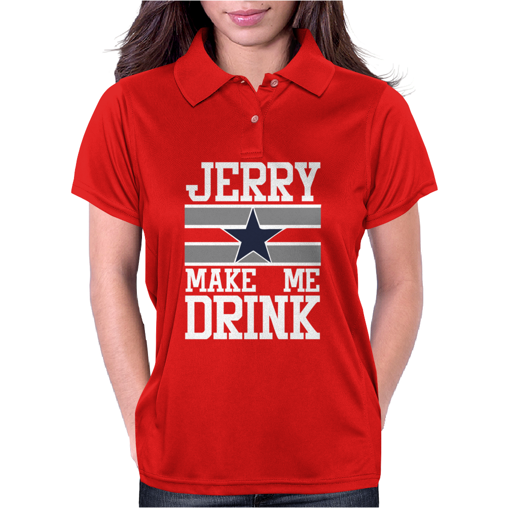 Jerry Makes Me Drink Womens Polo