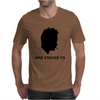 Jesse Pinkman Aaron Paul Mad Stacks Yo Breaking Bad. Mens T-Shirt