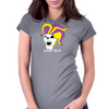 Jester Skull Womens Fitted T-Shirt