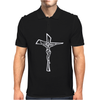 Jesus Christ Catholic Mens Polo