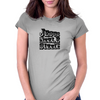 Jesus is the rizzle for the sizzle Womens Fitted T-Shirt