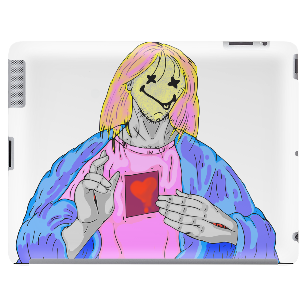 Jesus Kurt Pose Tablet