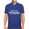 Jesus Loves The Stooges Mens Polo