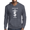 Jesus Saves I Spend funny statement Mens Hoodie