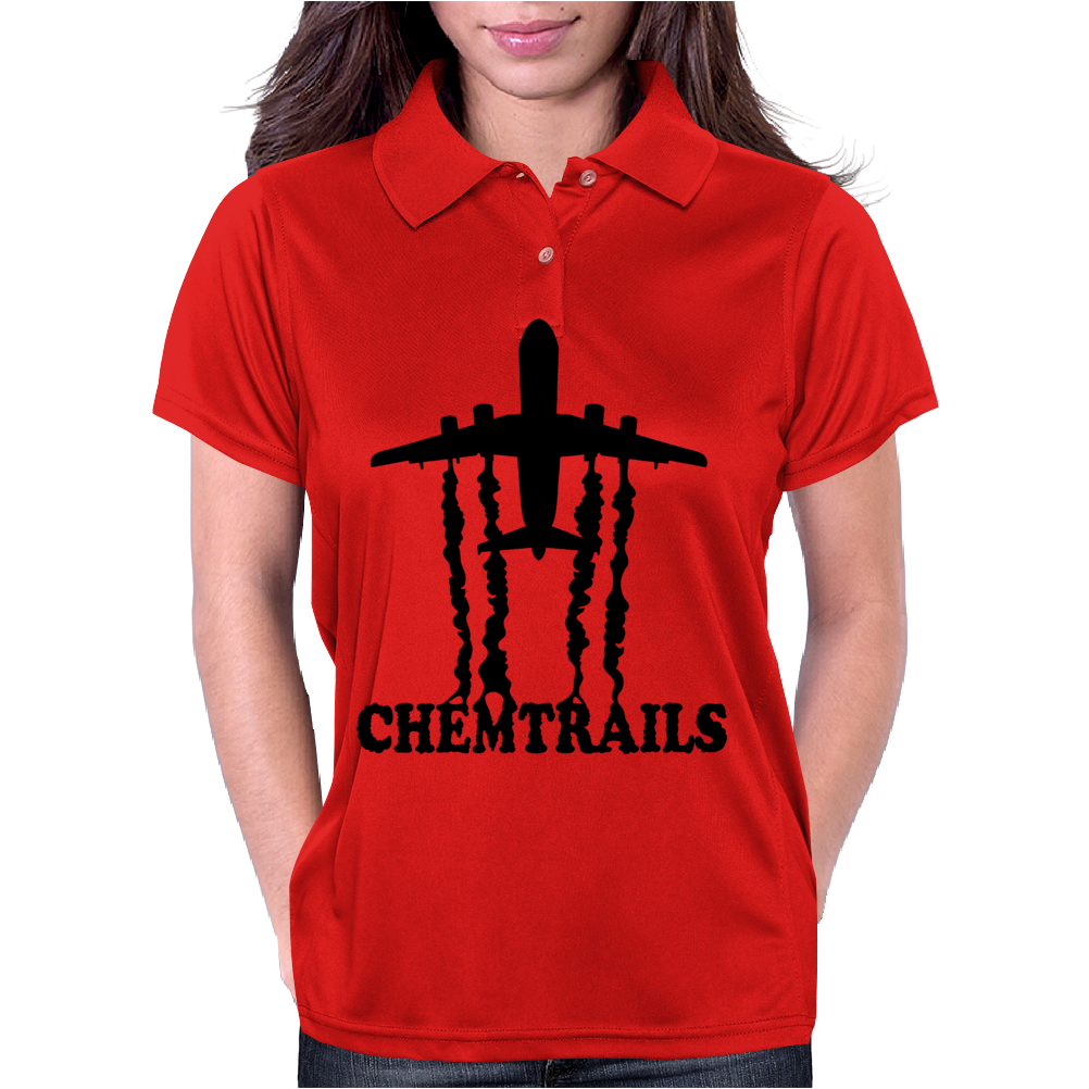 Jet Life Chemtrails Womens Polo