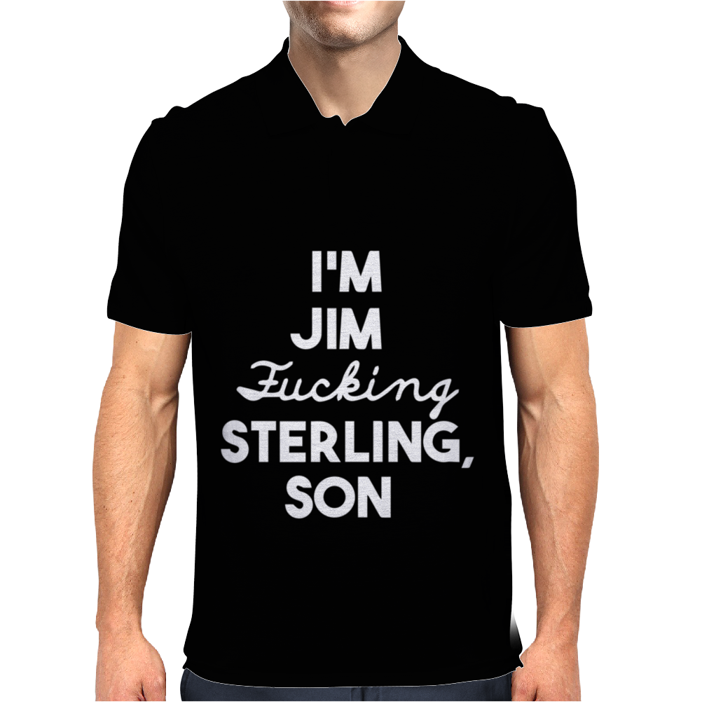 Jim Sterling Son Mens Polo