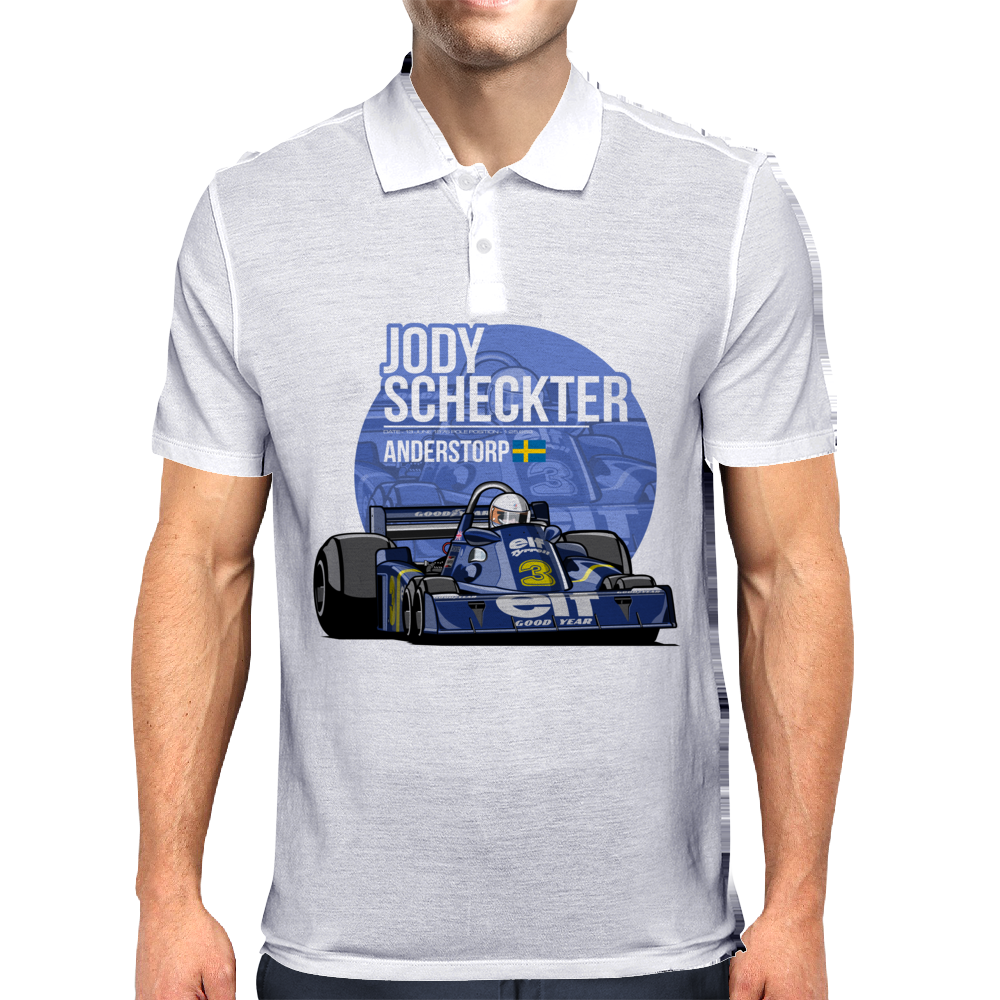 Jody Scheckter - 1976 Anderstorp Mens Polo