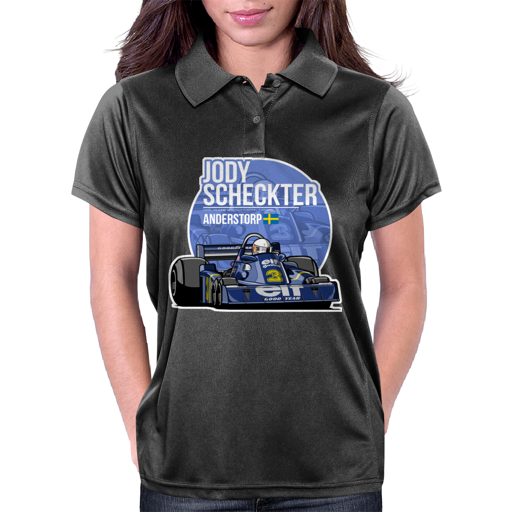 Jody Scheckter - 1976 Anderstorp Womens Polo