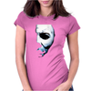 John Carpenter Horror Movie Halloween Michael Myers Womens Fitted T-Shirt