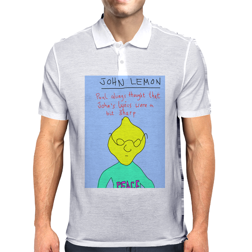 John Lemon Mens Polo
