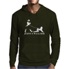 Johnnie Walk-Her (Walker) ~ Mens Funny Whisky Parody Mens Hoodie