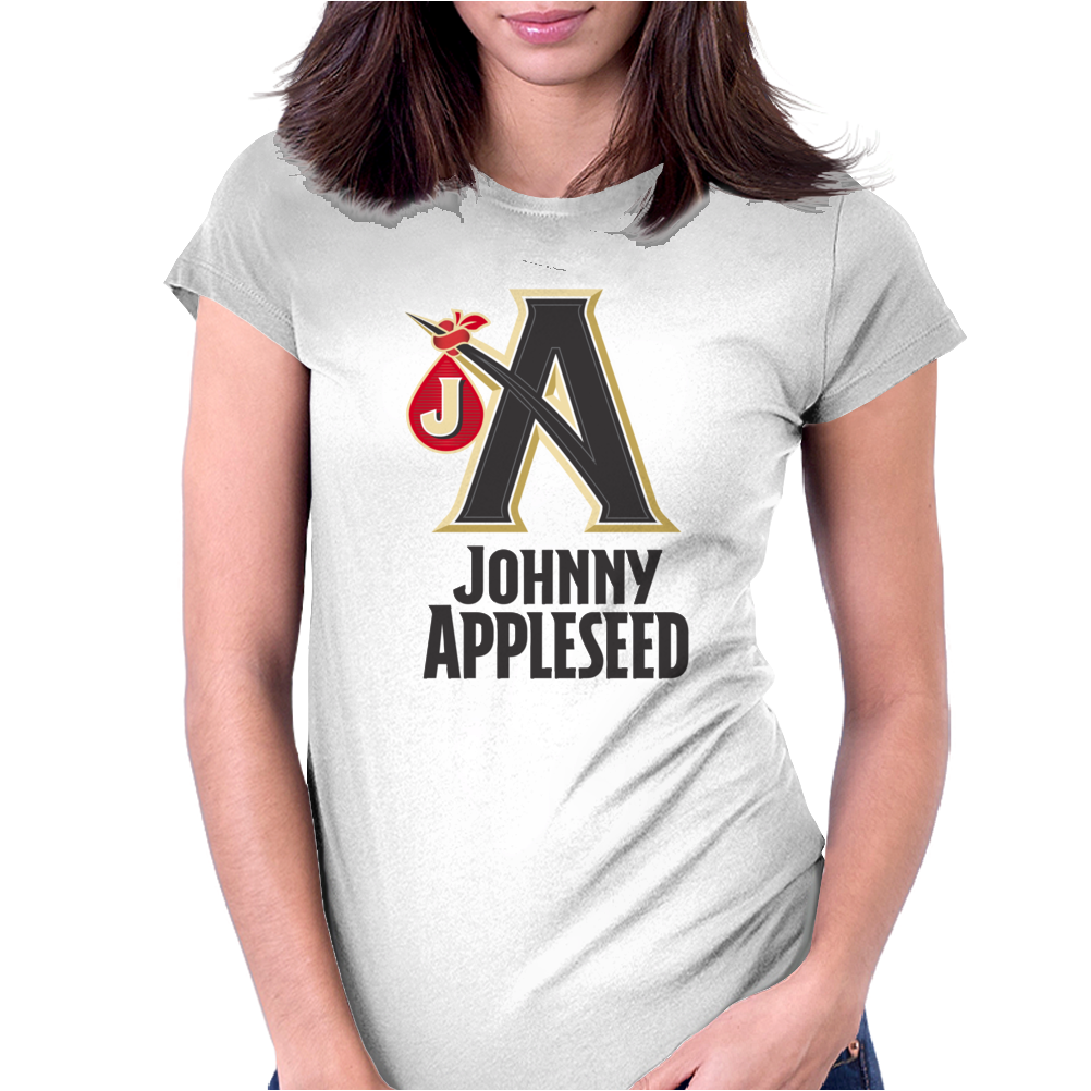 Johnny Appleseed Cider Beer Womens Fitted T-Shirt