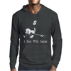 Johnny Cash A man With Issues Mens Hoodie