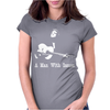 Johnny Cash A man With Issues Womens Fitted T-Shirt