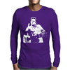 Johnny Cash Guitar Mens Long Sleeve T-Shirt