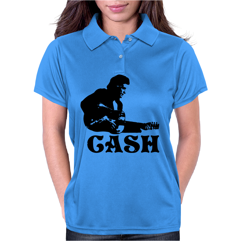 Johnny Cash Womens Polo